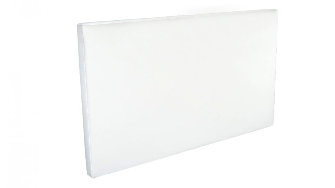 hoofdbord voor waterbedden wit