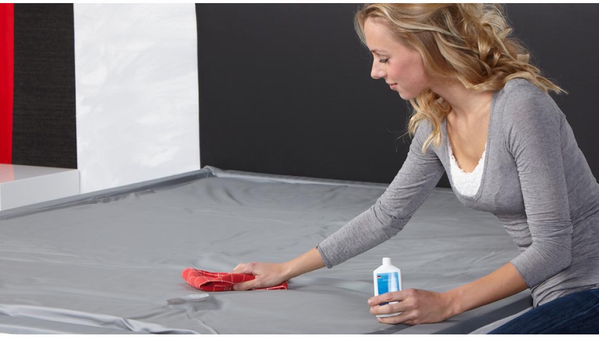 waterbed vinylreiniger watermatras schoonmaken