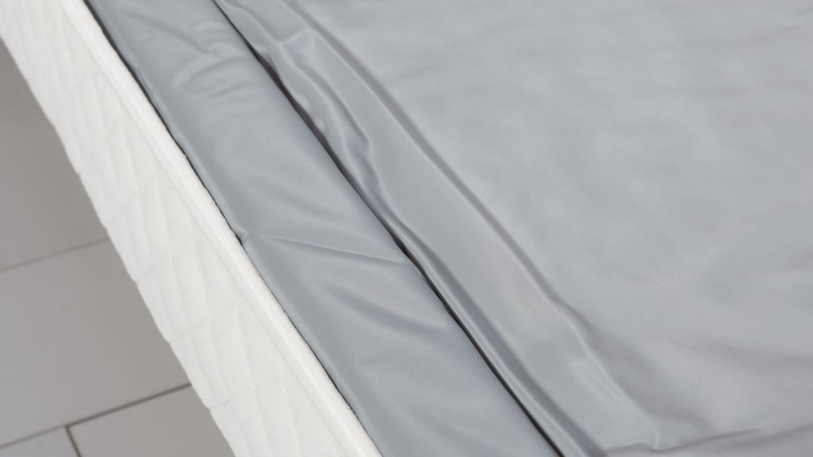 watermatras schuimrand lange zijde