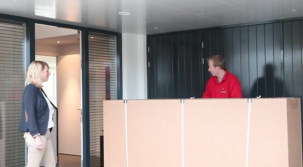 watermatras montage service in Nederland en België