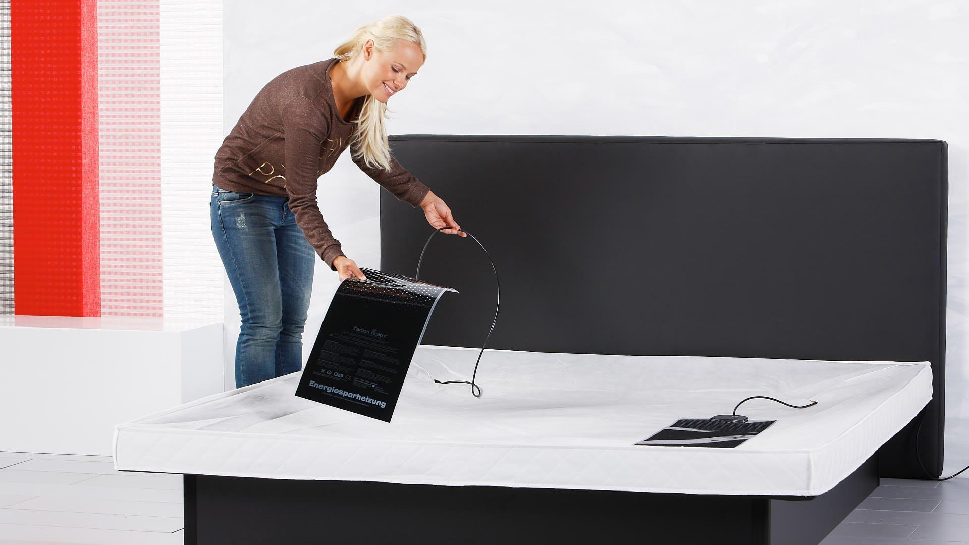 twee waterbedverwarmingen bij een duo watermatras