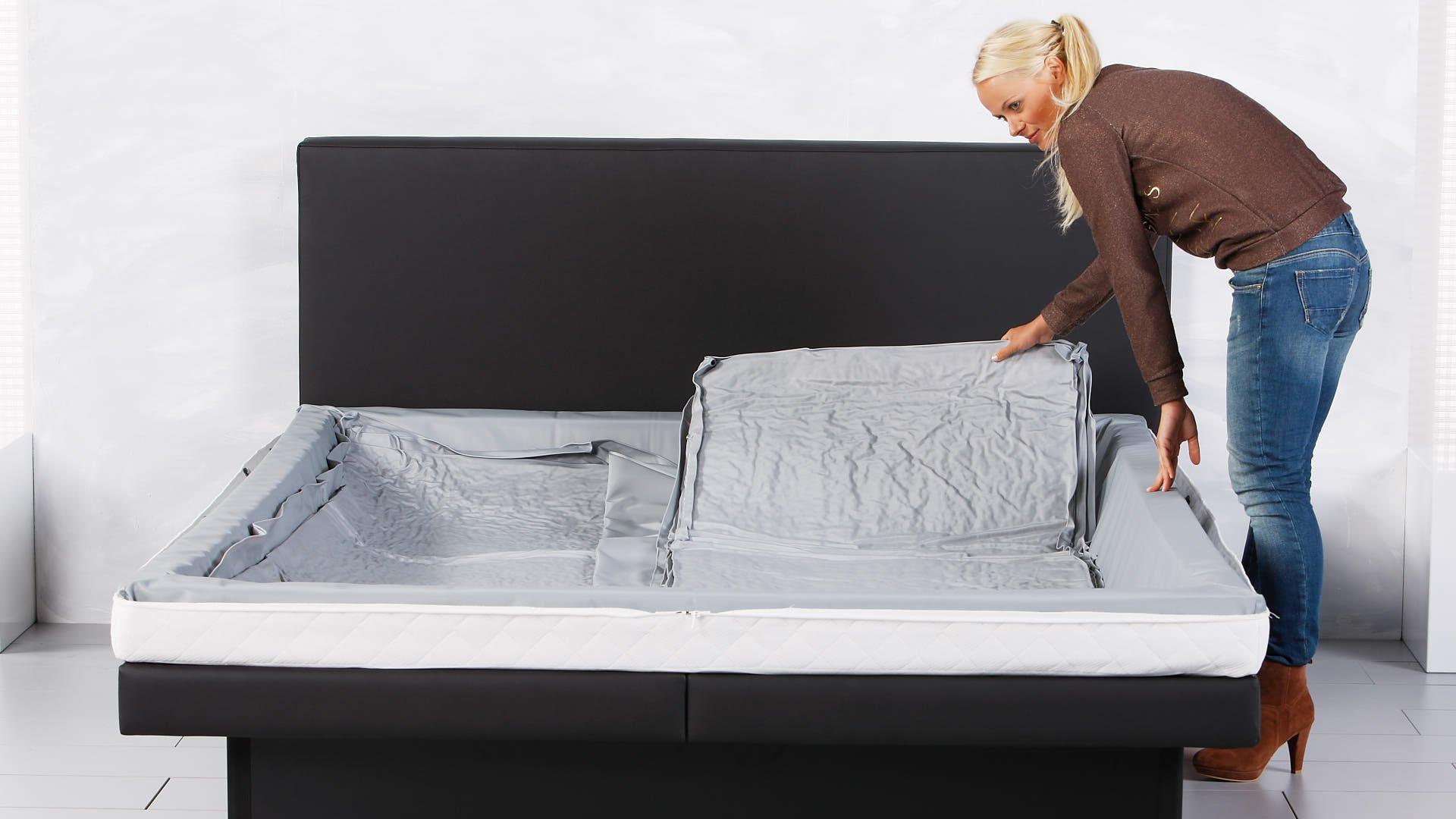 watermatras tweede helft van duo in compleet waterbed