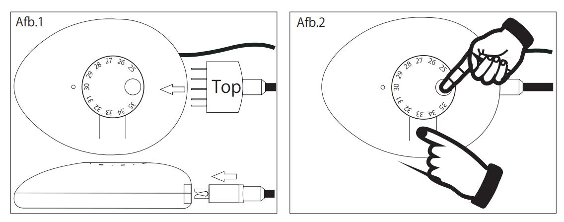 handleiding carbon verwarming classic analoog afbeelding