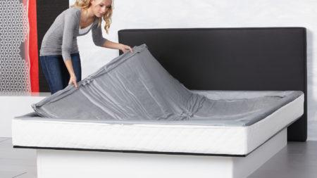 watermatras bedbodem